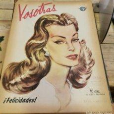Coleccionismo de Revistas y Periódicos: REVISTA VOSOTRAS BUENOS AIRES 2 DE ENERO DE 1948 Nº 640. Lote 262612915