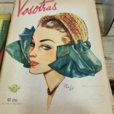 Coleccionismo de Revistas y Periódicos: REVISTA VOSOTRAS BUENOS AIRES 28 DE NOVIEMBRE DE 1947 Nº 635. Lote 262613275