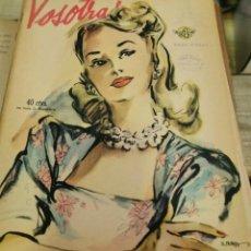 Coleccionismo de Revistas y Periódicos: REVISTA VOSOTRAS BUENOS AIRES 5 DE DICIEMBRE DE 1947 Nº 636. Lote 262613495