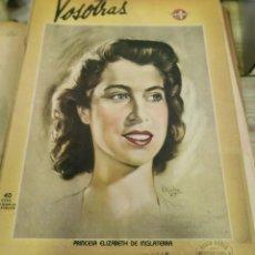 Coleccionismo de Revistas y Periódicos: REVISTA VOSOTRAS BUENOS AIRES 12 DE DICIEMBRE DE 1947 Nº 637. Lote 262613675