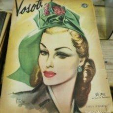 Coleccionismo de Revistas y Periódicos: REVISTA VOSOTRAS BUENOS AIRES 15 DE AGOSTO DE 1947 Nº 620. Lote 262620955