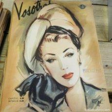 Coleccionismo de Revistas y Periódicos: REVISTA VOSOTRAS BUENOS AIRES 8 NOVIEMBRE DE 1946 Nº 580. Lote 262622685