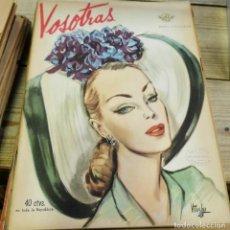 Coleccionismo de Revistas y Periódicos: REVISTA VOSOTRAS BUENOS AIRES 17 DE OCTUBRE DE 1947 Nº 629. Lote 262622885