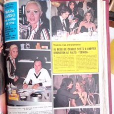 Coleccionismo de Revistas y Periódicos: MARIA LASSO CAMILO SESTO. Lote 262627135