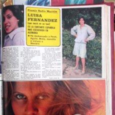 Coleccionismo de Revistas y Periódicos: LUISA FERNANDEZ. Lote 262627400