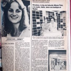 Coleccionismo de Revistas y Periódicos: PATRICIA HEARST ALMUDENA ALFONSO PASO. Lote 262627755