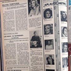 Coleccionismo de Revistas y Periódicos: LUIS AGUILE SILVIA TORTOSA MAYRA GOMEZ KEMP. Lote 262628255