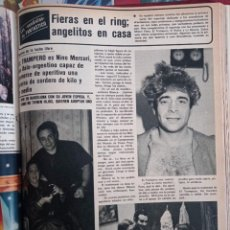 Coleccionismo de Revistas y Periódicos: NINO MERCURI EL TRAMPERO. Lote 262628410