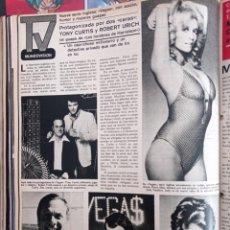 Coleccionismo de Revistas y Periódicos: ROBERT URICH TONI CURTIS VEGAS. Lote 262628555