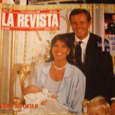 Coleccionismo de Revistas y Periódicos: CAROLINA DE MONACO ROCIO DURCAL URSULA ANDRESS ANA OBREGON LOLA FLORES MIGUEL BOSE ESTEFANIA 1986. Lote 262629460