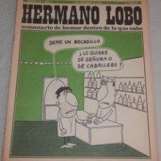 Coleccionismo de Revistas y Periódicos: REVISTA HERMANO LOBO - Nº 78 - AÑO II -- 1973. Lote 262629935