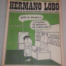 Coleccionismo de Revistas y Periódicos: REVISTA HERMANO LOBO - Nº 78 - AÑO II -- 1973. Lote 262630305