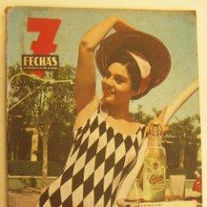 Coleccionismo de Revistas y Periódicos: REVISTA 7 FECHAS. EL PERIÓDICO DE TODA LA SEMANA. SUPLEMENTO DE VERANO. JULIO 1964. Lote 262713125