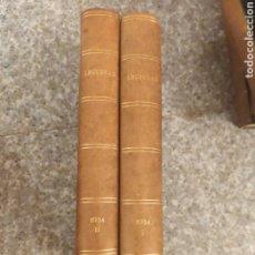 Coleccionismo de Revistas y Periódicos: REVISTA LECTURAS 1934. AÑO COMPLETO.. Lote 262817825