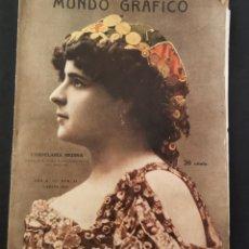 Coleccionismo de Revistas y Periódicos: REVISTA MUNDO GRÁFICO .JULIO 1912.POETADA CALENDARIA MEDINA. Lote 262820505
