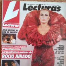 Colecionismo de Revistas e Jornais: REVISTA LECTURAS ROCÍO JURADO 1988. Lote 262844750