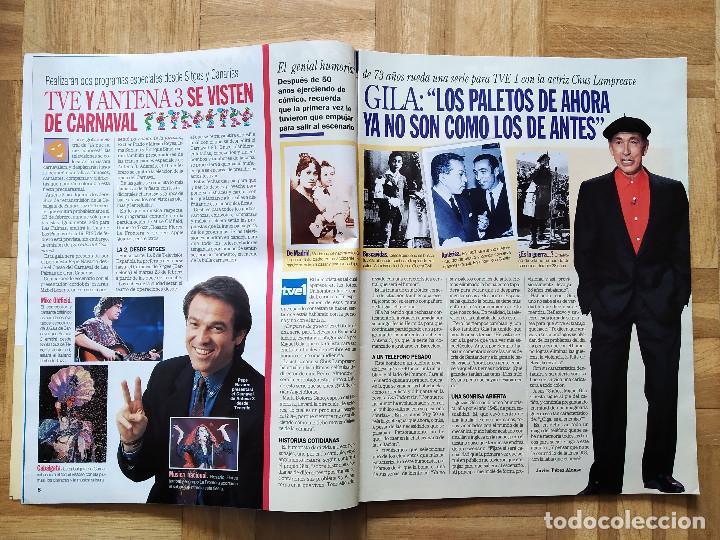 Coleccionismo de Revistas y Periódicos: REVISTA SUPERTELE 49. RAFFAELLA CARRA. GILA. CARRASCAL. LUKE PERRY JASON PRIESTLEY. RAMBO. ABIGAIL - Foto 4 - 262859565