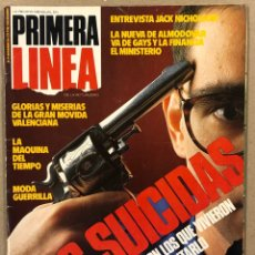 Coleccionismo de Revistas y Periódicos: PRIMERA LÍNEA N° 19 (1986). PEDRO ALMODÓVAR, MOVIDA VALENCIANA, JACK NICHOLSON,..,. Lote 262912590