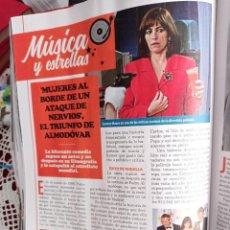 Coleccionismo de Revistas y Periódicos: CARMEN MAURA PEDRO ALMODOVAR MUJERES AL BORDE DE UN ATAQUE DE NERVIOS. Lote 262921555