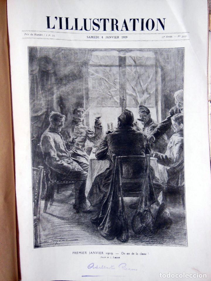 Coleccionismo de Revistas y Periódicos: LILLUSTRATION. 2 tomos. Janvier 1919 - Décembre 1919. - Foto 2 - 262931645