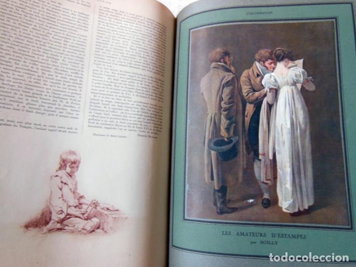 Coleccionismo de Revistas y Periódicos: LILLUSTRATION. 2 tomos. Janvier 1919 - Décembre 1919. - Foto 3 - 262931645