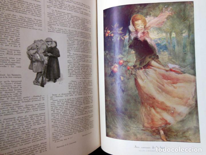 Coleccionismo de Revistas y Periódicos: LILLUSTRATION. 2 tomos. Janvier 1919 - Décembre 1919. - Foto 4 - 262931645