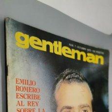 Coleccionismo de Revistas y Periódicos: REVISTA GENTLEMAN Nº 7 AÑO EMILIO ROMERO HABLA SOBRE EL REY,REPORTAJE DE MARISOL,FALANGE VER FOTOS. Lote 262931760