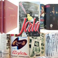 Coleccionismo de Revistas y Periódicos: REVISTA JORBA. 3 TOMOS. DEL NÚMERO 1 AL 45 (INCLUIDOS) JUNIO 1953 A FEBRERO 1959. BARCELONA. Lote 262938285