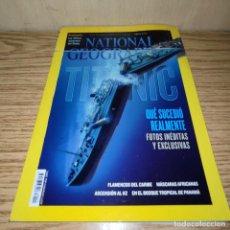 Coleccionismo de Revistas y Periódicos: NATIONAL GESOGRAPHIC: TITANIC. Lote 263028130