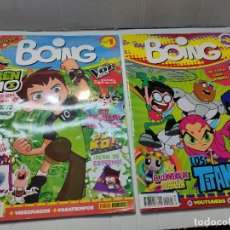 Coleccionismo de Revistas y Periódicos: REVISTA BOING LOTE 2 NÚMEROS 1 Y 20 BUEN ESTADO. Lote 263065065