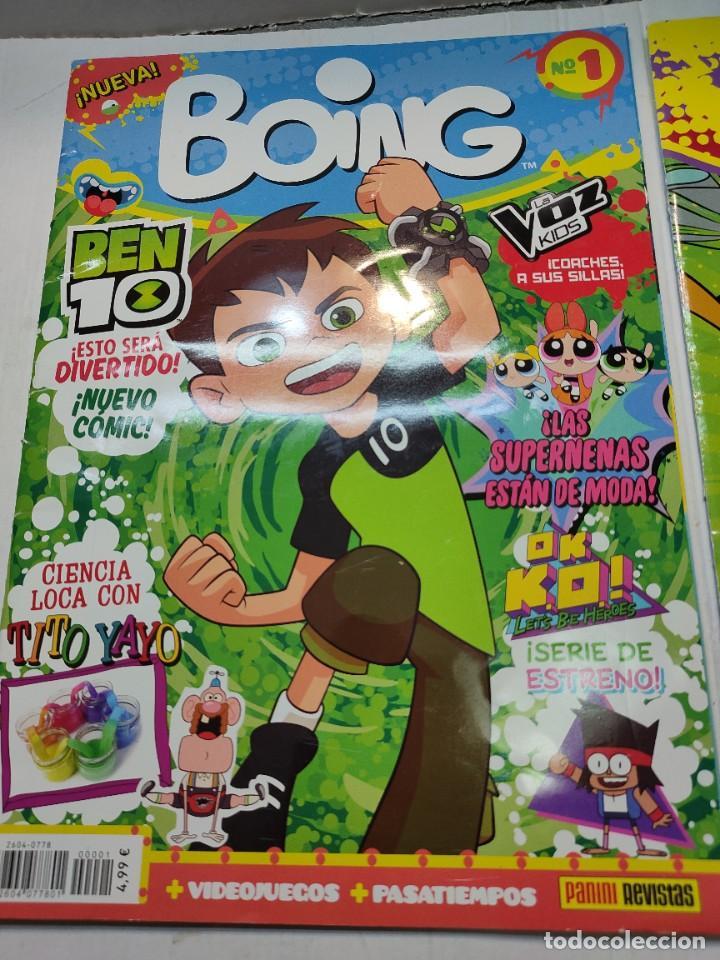 Coleccionismo de Revistas y Periódicos: Revista Boing lote 2 números 1 y 20 buen estado - Foto 2 - 263065065