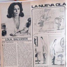 Coleccionismo de Revistas y Periódicos: LOLA FLORES. Lote 263097890