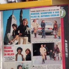 Coleccionismo de Revistas y Periódicos: PECOS EN MEJICO MARISOL PEPA FLORES. Lote 263174850