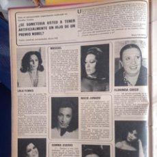 Coleccionismo de Revistas y Periódicos: LOLA FLORES ROCIO JURADO ELSA BAEZA ANGELA CARRASCO GEMMA CUERVO MASSIEL FLORINDA CHICO. Lote 263180105