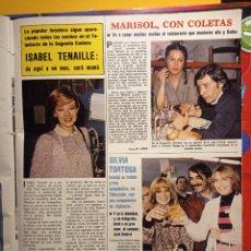 Coleccionismo de Revistas y Periódicos: ISABEL TENAILLE SILVIA TORTOSA MARISOL PEPA FLORES ANTONIO GADES. Lote 263216505