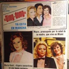 Coleccionismo de Revistas y Periódicos: MARIA KOSTI MAYRA GOMEZ KEMP DING DONG ANDRES PAJARES. Lote 263216525
