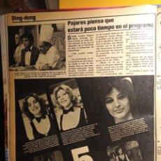 Coleccionismo de Revistas y Periódicos: DING DONG LAS AZAFATAS ANDRES PAJARES. Lote 263216555