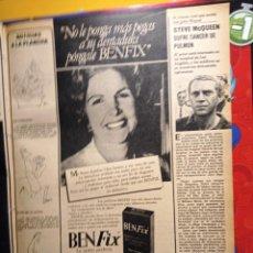 Coleccionismo de Revistas y Periódicos: STEVE MCQUEEN. Lote 263216570