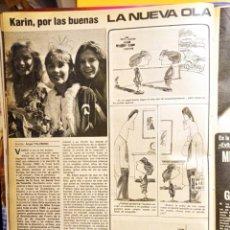 Coleccionismo de Revistas y Periódicos: KARIN SCHURTZ MISS EUROPA 1980. Lote 263216595