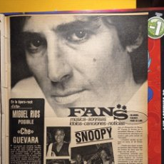 Coleccionismo de Revistas y Periódicos: MIGUEL RIOS SNOOPY. Lote 263216605