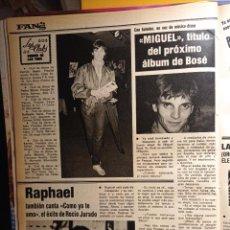 Coleccionismo de Revistas y Periódicos: MIGUEL BOSE RAPHAEL. Lote 263216625