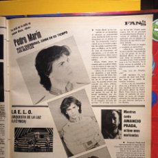 Coleccionismo de Revistas y Periódicos: AMANCIO PRADA PEDRO MARIN LA ELO. Lote 263216635