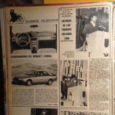 Coleccionismo de Revistas y Periódicos: LUIS DOCAMPO PEREZ JOSE FELICISIMO MORENO RENAULT FUEGO. Lote 263216715
