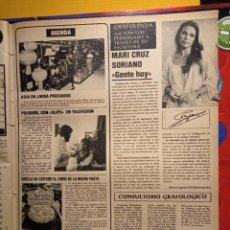 Coleccionismo de Revistas y Periódicos: MARI CRUZ SORIANO POLDARK JIM CALZONCILLOS ROBIN ELLIS SLIPS. Lote 263216775