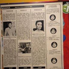 Coleccionismo de Revistas y Periódicos: RICHARD HARRIS AMPARO PAMPLONA JOSE ANTONIO PLAZA. Lote 263216850