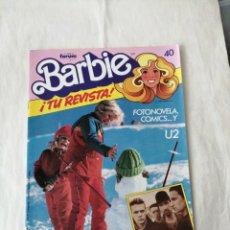 Coleccionismo de Revistas y Periódicos: REVISTA BARBIE N40 PÓSTER U2 CÓMICS FORUM. Lote 263689645