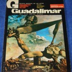 Coleccionismo de Revistas y Periódicos: GUADALIMAR Nº 48 - REVISTA MENSUAL DE LAS ARTES - ENERO DE 1980. Lote 263698685