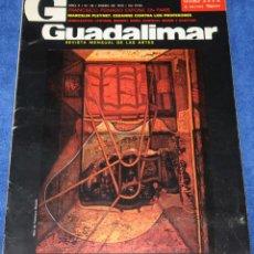 Coleccionismo de Revistas y Periódicos: GUADALIMAR Nº 38 - REVISTA MENSUAL DE LAS ARTES - ENERO DE 1979. Lote 263698735