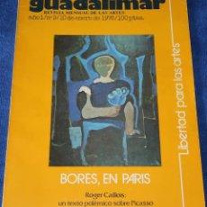 Coleccionismo de Revistas y Periódicos: GUADALIMAR Nº 9 - REVISTA MENSUAL DE LAS ARTES -10 DE ENERO DE 1976. Lote 263698870