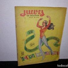 Coleccionismo de Revistas y Periódicos: 7- REVISTA JUEVES DE EXCELSIOR, JUEGOS DE PORTIVOS PANAMERICANOS 1975 AÑO 54. Lote 263701690